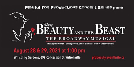 "Playful Fox Production Concert Series: ""Disney's Beauty and the Beast"" tickets"