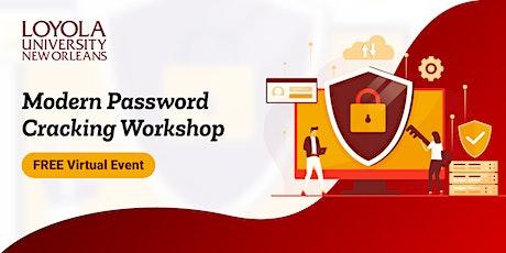 Modern Password Cracking | Virtual Workshop tickets