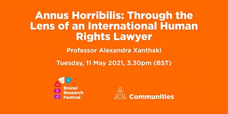 Annus Horribilis: Through the Lens of an International Human Rights Lawyer tickets