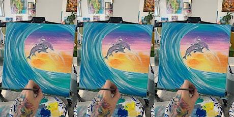 2 for 1! Dolphin: Glen Burnie, Sidelines with Artist Katie Detrich! tickets