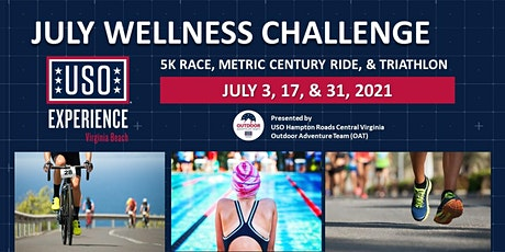 "The USO Experience   VB July Wellness ""Modified"" Sprint Triathlon tickets"