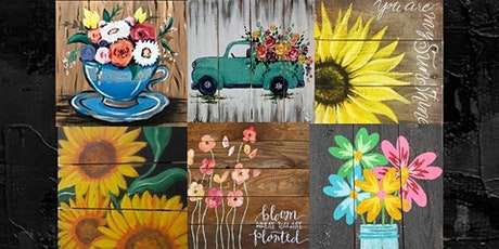 Paint Your Own Wood Plank, Paint Night tickets
