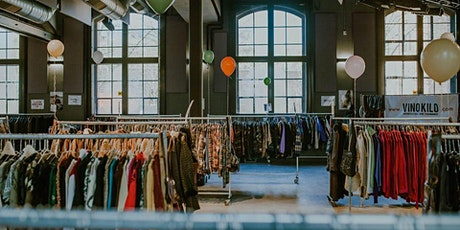 Printemps Vintage Kilo Pop Up Store • Brussels • Vinokilo billets