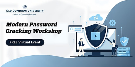 Modern Password Cracking | Virtual Workshop tickets