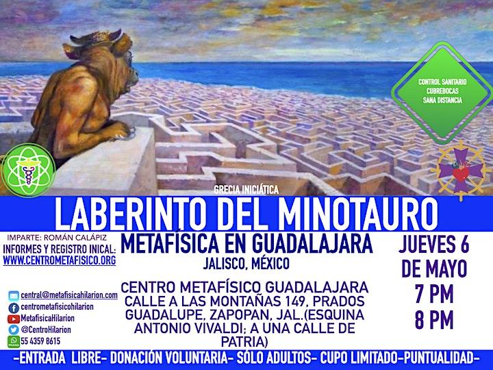 Imagen de LABERINTO DEL MINOTAURO: Metafísica en Guadalajara