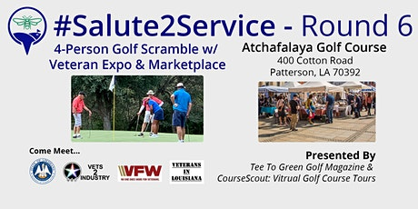 #Salute2Service   Golf Scramble w/ Veteran Expo & Marketplace - Round 6 tickets