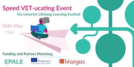 Speed VET-ucating: Speed Matching for Erasmus+ VET tickets