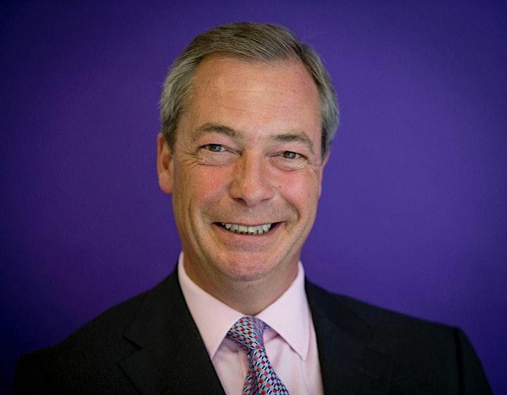 Nigel Farage - America's Comeback Tour 2021 image