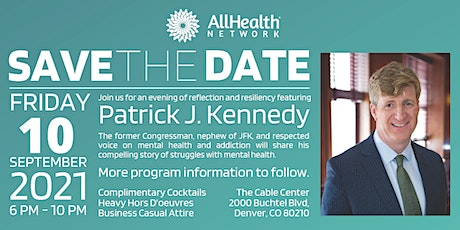 An Evening of Reflection and Resiliency Featuring Patrick J. Kennedy tickets