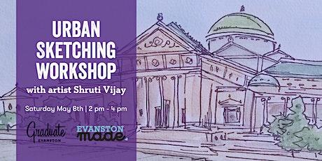 Urban Sketching Workshop with Shruti Vijay at Graduate Evanston tickets