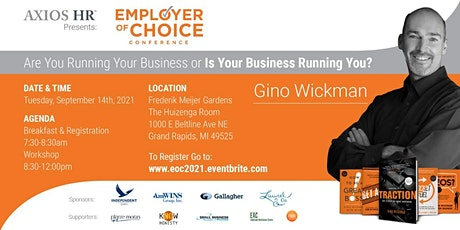 Employer Of Choice Conference 2021 - Hosted By Axios HR tickets