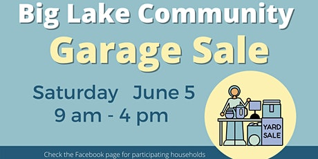 Big Lake Community Garage Sale tickets