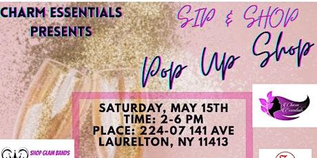 Sip and Shop! Pop Up Shop tickets