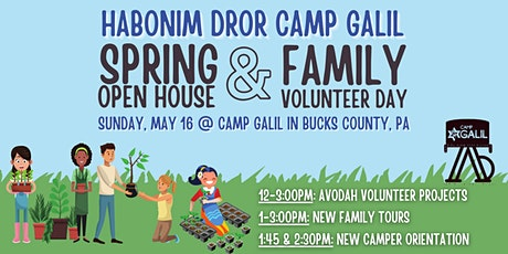 Camp Galil Open House & Family Volunteer Day tickets