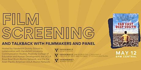 Film screening of Far East, Deep South and talkback tickets