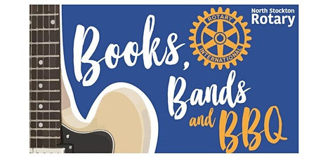 Books, Bands & BBQ tickets