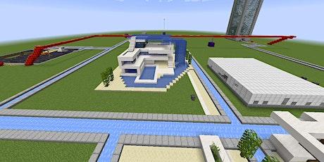 Online I Minecraft: Wir bauen die Stadt der Zukunft Tickets