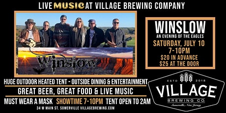 Winslow An Evening of the Eagles @Village Brewing Company tickets