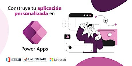 Power Apps - Construye tu aplicación personalizada entradas