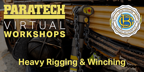 Virtual Workshop: Blue Collar Training Heavy Rigging & Winching tickets