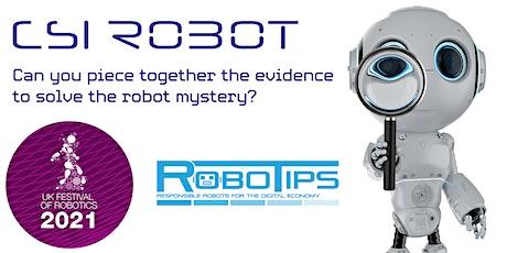 CSI Robot ingressos