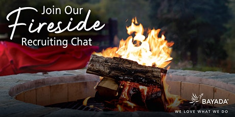 Join our Recruiting Fireside Chat Tickets