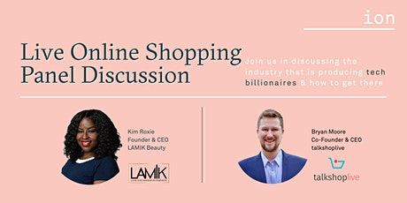 Live Online Shopping Panel Discussion | Kim Roxie, LAMIK Beauty tickets