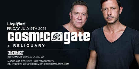 COSMIC GATE | Friday July 9th 2021 | District Atlanta tickets
