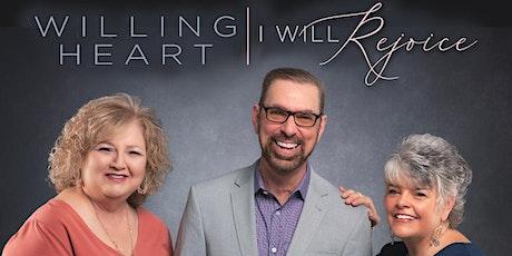 Willing Heart CD Premiere tickets