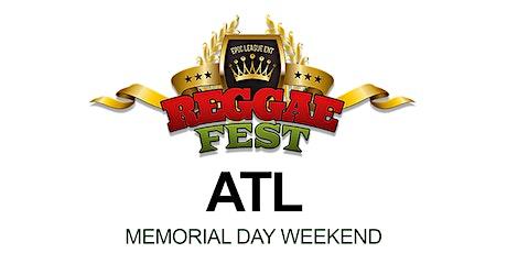 Reggae Fest ATL Vs. Soca Memorial Day Weekend Kick Off Party tickets