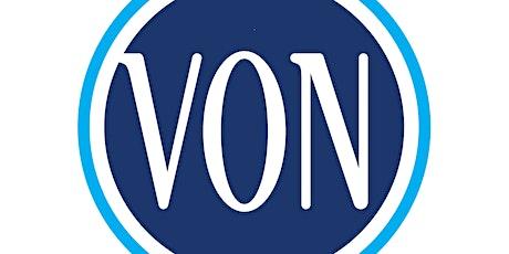 Wellness Wednesday's with VON (Online Caregiver Support Group) tickets
