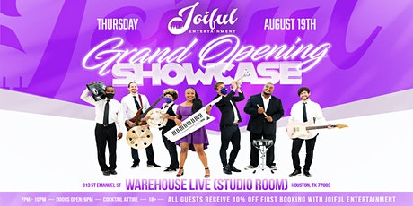 JOIFUL ENTERTAINMENT GRAND OPENING SHOWCASE tickets