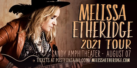 Melissa Etheridge: 2021 Tour tickets