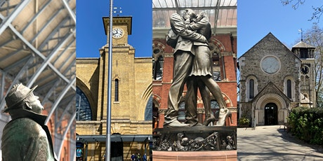 Kings Cross: Wrong Side of the Tracks? Look Up London Walking Tour tickets