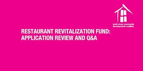 Restaurant Revitalization Fund Workshop tickets