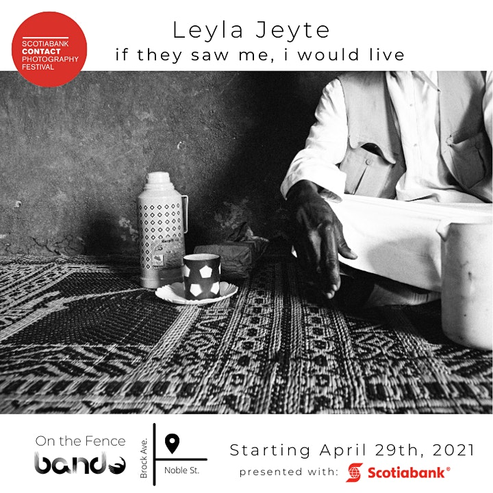 if they saw me, i would live Artist Talk with Leyla Jeyte image