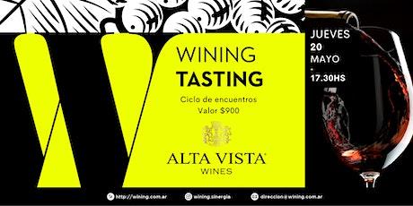 Wining Tasting #AltaVista entradas