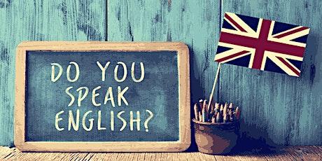 Déblocage linguistique en anglais billets