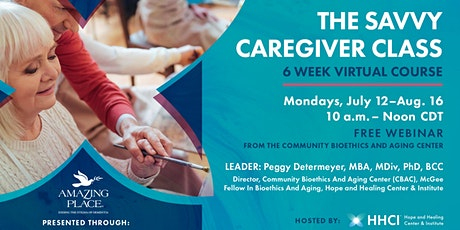 The SAVVY Caregiver Class tickets