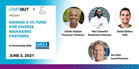 Raising a VC Fund for Diverse Managing Partners tickets