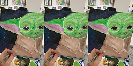 2 for 1! Baby Yoda: Glen Burnie, Sidelines with Artist Katie Detrich! tickets