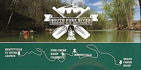 South Fork 25 Mile Overnight Paddle tickets