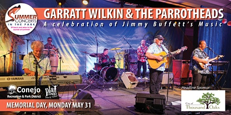 Memorial Day Summer Concert - Featuring Garratt Wilkin & The Parrotheads tickets