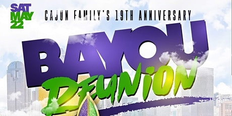 Bayou Reunion Day Party – Cajun Family's 19th Anni tickets