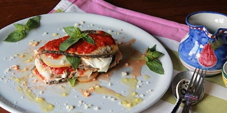 Online Cooking : Aubergine Parmigiana tickets