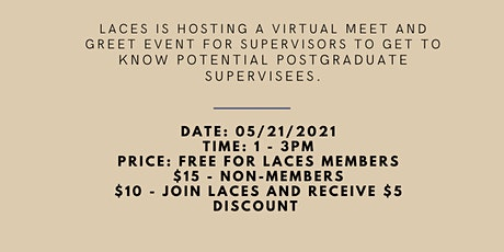 LACES Annual Supervision Connection tickets