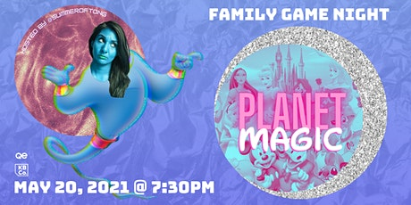 QE Trivia 58: Planet Magic - Family Night Virtual Pub Quiz tickets