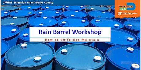 Rain Barrel Workshop w/Drive Thru Barrel Pick-up tickets