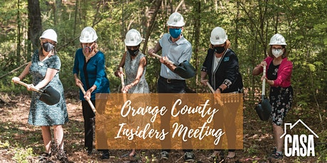 Orange County Insiders Meeting tickets