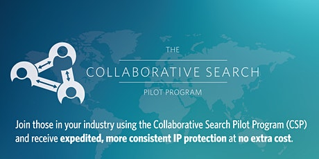 USPTO's Collaborative Search Pilot Program (CSP) Info Session 2021-003 tickets